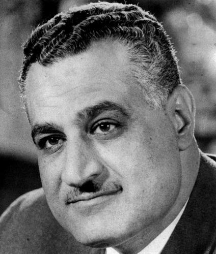 Who is  Gamal Abdel Nasser