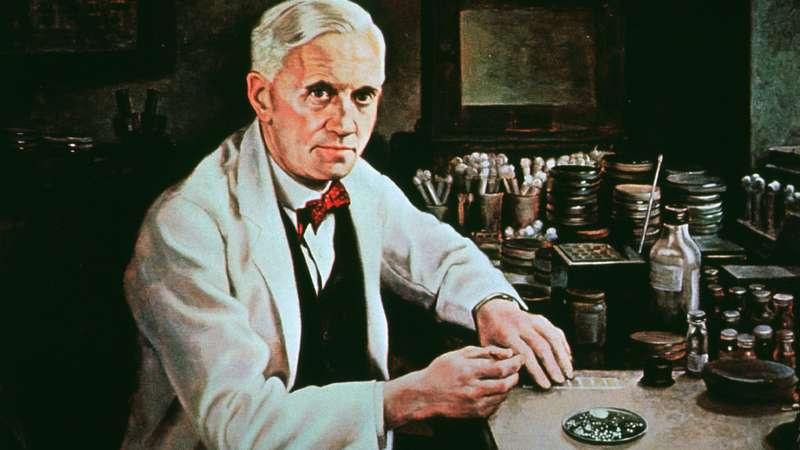 Alexander Fleming Creator of lysozyme