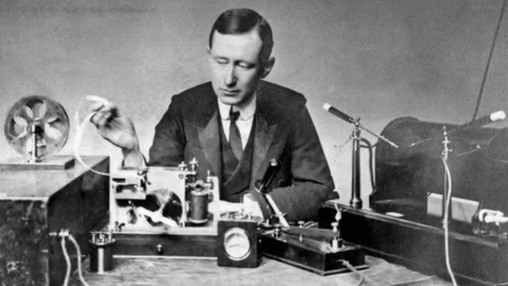 Italian Inventor  Guglielmo Marconi